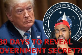 Stimulus Package Includes Hidden 180 Day Countdown To DISCLOSE Government Secrets?!