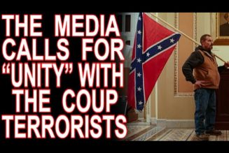 "The Media Calls For ""Unity"" With The Capitol Hill Terrorists"