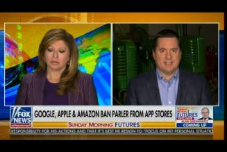 """These CEOs Who Are Doing This Should Be Prosecuted Criminally"" -Devin Nunes Goes After Tech Giants"