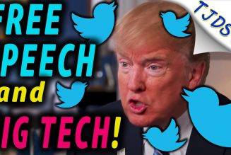 Trump Banned from Social Media — Free Speech & Big Tech.