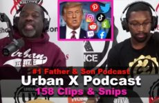 Trump banned off ALL social media does this set a dangerous precedence? Urban X Podcast 158