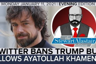 TWITTER BANS TRUMP BUT ALLOWS AYATOLLAH KHAMENEI | The Stewart Alastair Edition