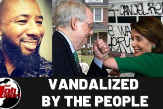 Vandalized By The People#forcethevote #medicareforall #$2000stimulas