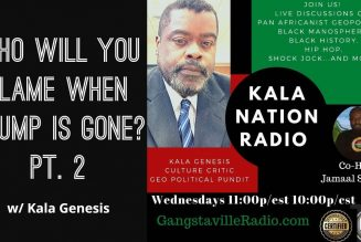 Who Will You Blame When Trump Is Gone? Pt. 2 w/ Kala Genesis