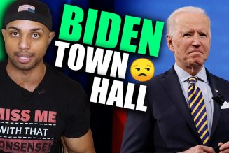 Biden town hall was PAINFUL