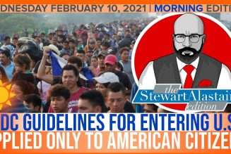 CDC GUIDELINES FOR ENTERING U.S. APPLIED ONLY TO AMERICAN CITIZENS | The Stewart Alastair Edition
