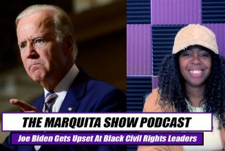 JOE BIDEN YELLING AT CIVIL RIGHTS LEADERS IN MEETING || THE MARQUITA SHOW