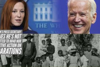 Joe Biden's Press Secretary Implies He's Not Committed to HR40 Nor Executive Action On Reparations