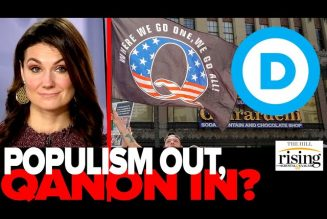 Krystal Ball: Dems ABANDON Populism, Go ALL IN On QAnon For Midterms