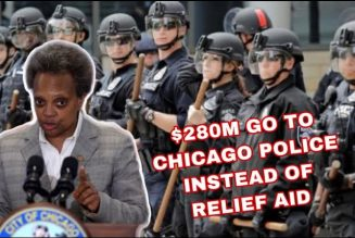 Lori Lightfoot Spent $280M of Relief Money on POLICE