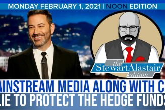 MAINSTREAM MEDIA ALONG WITH CNN LIE TO PROTECT THE HEDGE FUNDS | The Stewart Alastair Edition