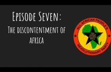 Pantsula Podcast Ep. 7 Discontentment of Africa