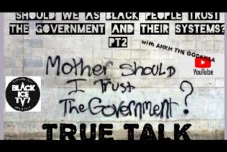 Should black people trust the Government and their systems