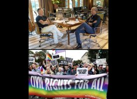 The Black Watch –  Caption: The Boss and the Overseer, and Gay Civil rights?