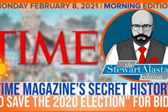 "TIME MAGAZINE'S SECRET HISTORY ""TO SAVE THE 2020 ELECTION"" FOR BIDEN 