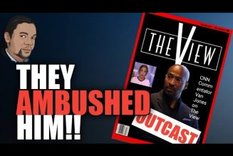 VAN JONES Ambushed  On THE VIEW and Called an Opportunist!