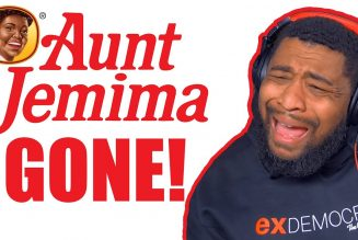 WHY DID THEY TAKE AUNT JEMIMA off the box!?