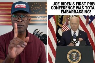 Biden's First Press Conference Was TOTALLY Embarrassing!