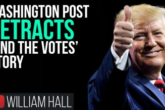 """FAKE NEWS: Washington Post RETRACTS """"Find The Votes"""" Story"""