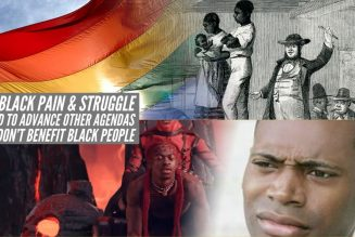 How Black Pain & Struggle  Is Used To Advance Other Agendas That Don't Benefit Black People