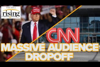 Krystal and Saagar: CNN loses NEARLY HALF of primetime audience without Trump