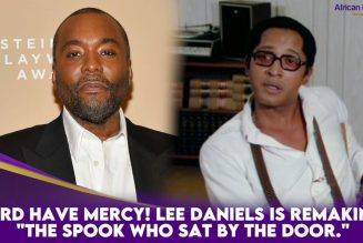 """Lord Have Mercy! Lee Daniels Is Remaking """"The Spook Who Sat By The Door."""""""