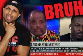 Roland Martin gets WRECKED by King Randall