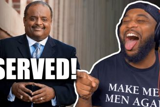 ROLAND MARTIN GOT SERVED BY A 21 YEAR OLD CONSERVATIVE LION!