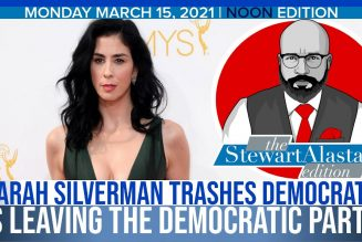 SARAH SILVERMAN TRASHES DEMOCRATS IS LEAVING THE DEMOCRATIC PARTY | The Stewart Alastair Edition
