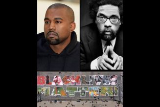 SUNDAY SERVICE – Kanye West and Cornel West! MORE BLM symbolism WHERE DA MONEY AT?