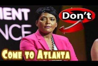 Will this Decision ruin her political career? Atlanta Mayor Keisha Bottoms decides to halt events.