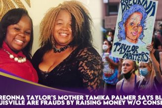 Breonna Taylor's Mother Tamika Palmer Says BLM Louisville Are Frauds By Raising Money W/O Consent