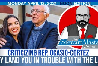 CRITICIZING REP. OCASIO-CORTEZ MAY LAND YOU IN TROUBLE WITH THE LAW | The Stewart Alastair Edition