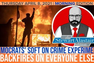 DEMOCRATS' SOFT ON CRIME EXPERIMENT BACKFIRES ON EVERYONE | The Stewart Alastair Edition