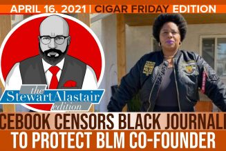 FACEBOOK CENSORS BLACK JOURNALIST TO PROTECT BLM CO-FOUNDER | The Stewart Alastair Edition