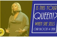 Is This Your Queen?!: When She Sells Our Blood For Cash