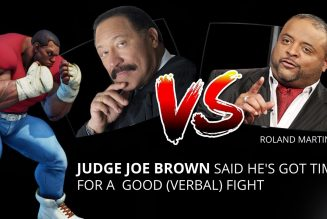 JUDGE JOE BROWN vs ROLAND MARTIN … vs KING RANDALL.  (MATURE CONTENT and LANG) LISTEN TO THE END.