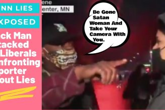 Liberals attack Black man who confronted CNN reporter Sara Sidner about inciting riots in Minnesota.