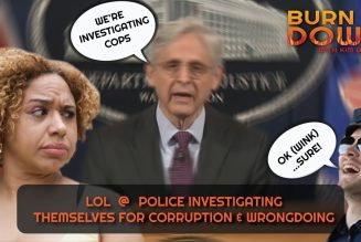 LOL @ Police Investigating Themselves For Corruption & Wrongdoing