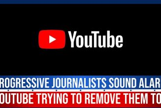 PROGRESSIVE JOURNALISTS SOUND ALARM YOUTUBE TRYING TO REMOVE THEM TOO | The Stewart Alastair Edition