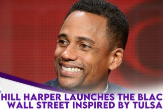 Actor Hill Harper Launches The Black Wall Street Platform Aimed At Empowering Black People
