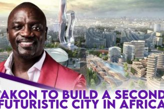 Akon To Build Second Futuristic City In Africa