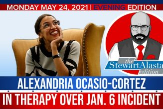 ALEXANDRIA OCASIO-CORTEZ IN THERAPY OVER JAN. 6 INCIDENT | The Stewart Alastair Edition