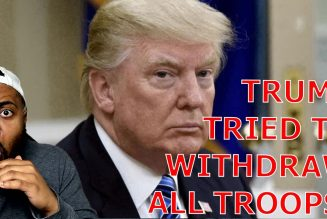 BOMBSHELL! Trump BLOCKED By THE SWAMP From Withdrawing ALL TROOPS In Final Days