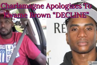"""Charlamagne Tha God Apologizes To Kwame Brown """"DECLINE"""""""