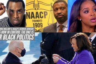 Diddy Tamika Mallory & NAACP's Derrick Johnson Proves How In Control The DNC Is Over Black Politics
