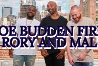 JOE BUDDEN FIRE CO-HOST RORY AND MAL LIVE ON-AIR FANS CLAPBACK