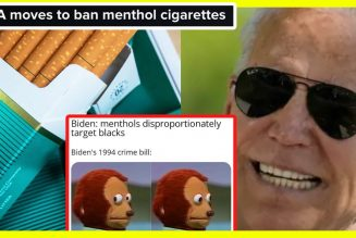 LOL: Joe Biden to Ban Menthols Instead of Legalizing Cannabis 🙄