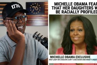 Michelle Obama Fears Her Daughters Will Be RACIALLY PROFILED!