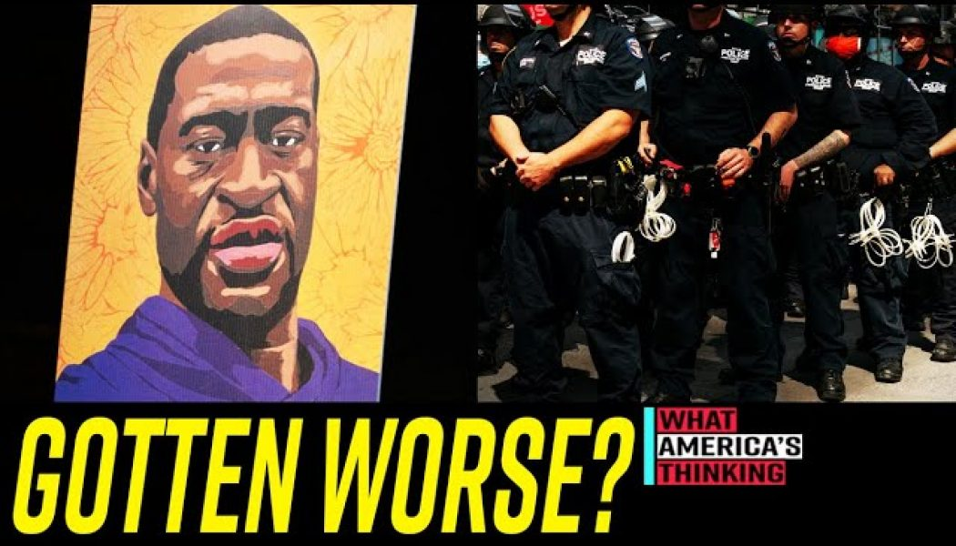 NEW POLL: More Voters Say Relations With Police & POC are WORSE One Year After George Floyd's Murder